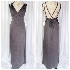 Tobi gray maxi dress NWT